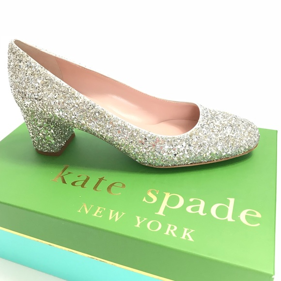 938492facf09 kate spade Shoes | New York 8 Dolores Heel Sparkle | Poshmark